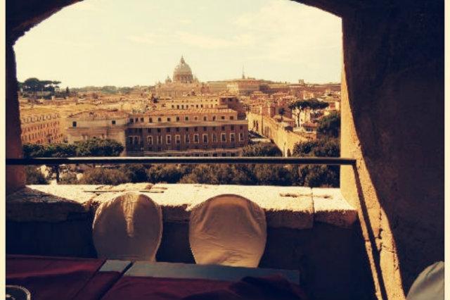 caffetterie dei musei di roma, caffetteria castel sant'angelo