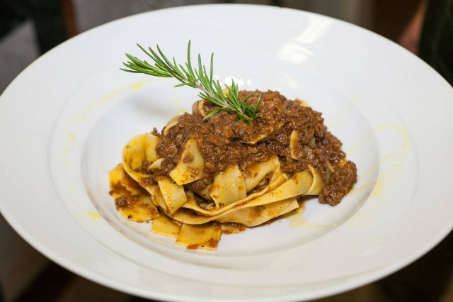 pappardelle pentoladell'oro