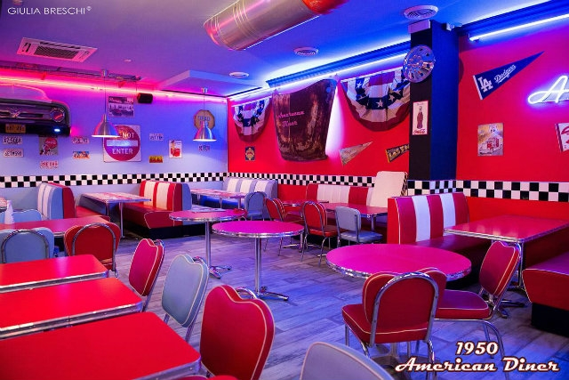 1950 american diner firenze