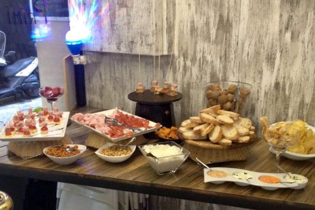 aperitivo buffet padova