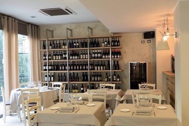 dersett parete vini milano