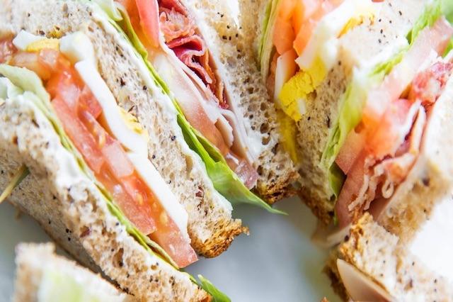 california bakery club sandwich milano