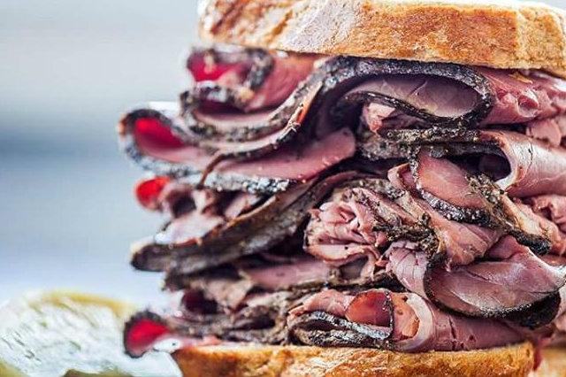 pastrami sandwich veneto
