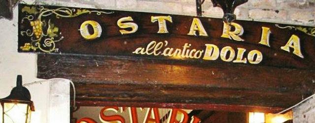 osteria antico dolo venezia