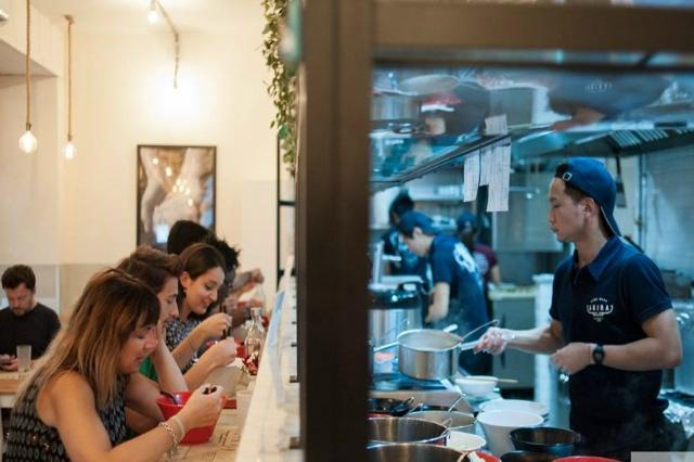 mangiare al bancone a roma ristoranti consigliati akira ramen bar ostiense piazza bologna mercato centrale termini flaminio ramen