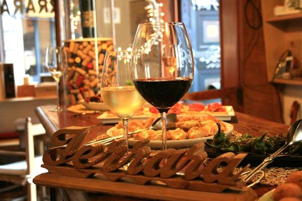 enoteca ferrara ristorante osteria il ferrarino trastevere piazza trilussa roma cucina tradizionale classifica 10 migliori enoteche con cucina a roma primo posto