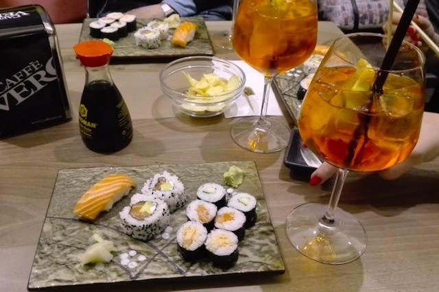 spritz e sushi gallerian5 padova