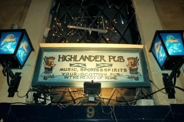 dove vedere altri sport in diretta a roma locali pub highlander pub centro storico tennis formula uno