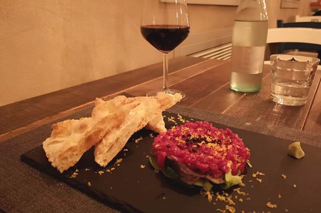 cruristobistrot noale tartare manzo cucina italiana