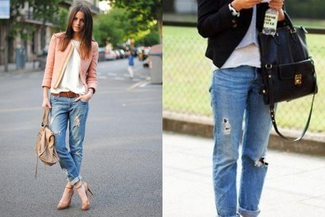 romane vs milanesi come portano i jeans strappati