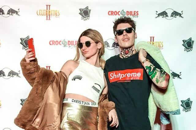 celebrity crocodile in venice
