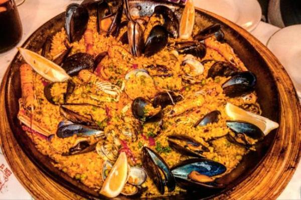 el patio ristorante spagnolo via casilina roma paella socarrat crosta migliori cinque paelle a roma
