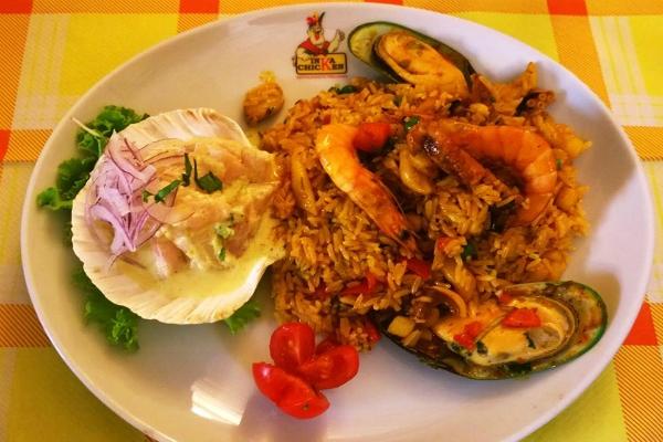 inka chicken ristorante peruviano roma termini cucina peruviana pollo a la brasa birra cheviche di pesce migliori ristoranti etnici di roma