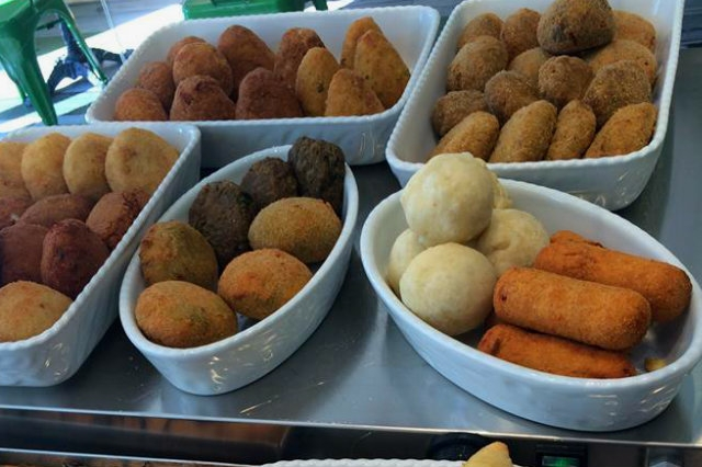 Street food alla romana i magnifici 8 suppl da for Fritti romani