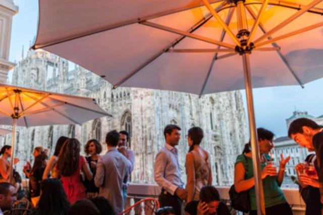 terrazza aperol milano vista panoramica aperitivo