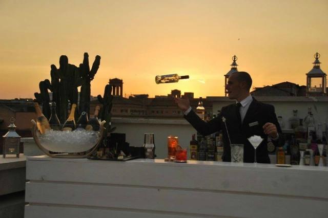 terrazza montemartini hotel montemartini roma terme di diocleziano tramonto estate romana summer in rome cocktail mixology nuove aperture roma giugno 2017