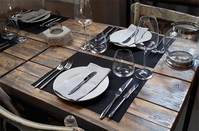 osteria dei malnat tavolo