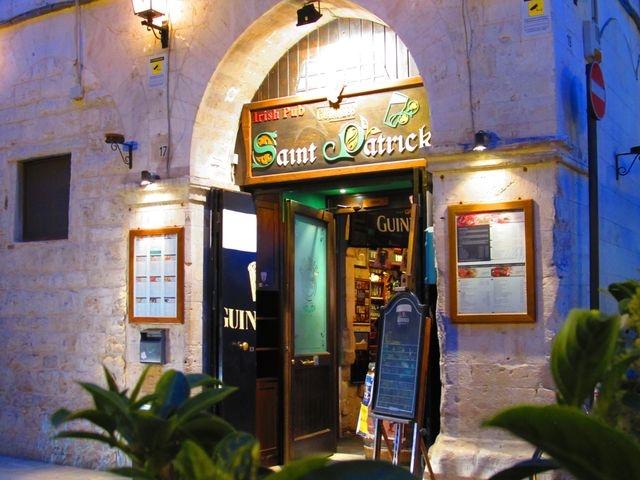 saint patrick barletta puglia pub