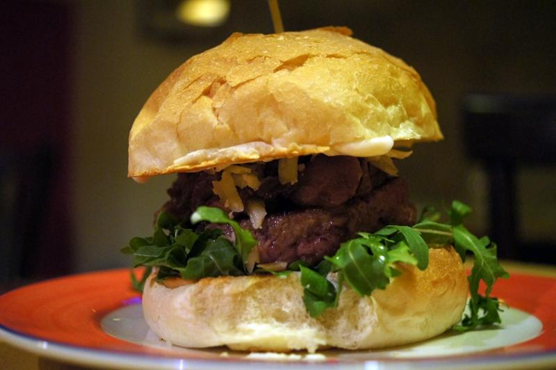 burger, quarto