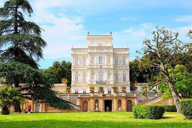 fare picnic a roma villa pamphilj