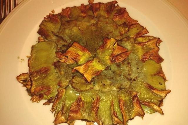 carciofo al mattone ristorante evangelista roma dove mangiare i carciofi ricette tradizionali