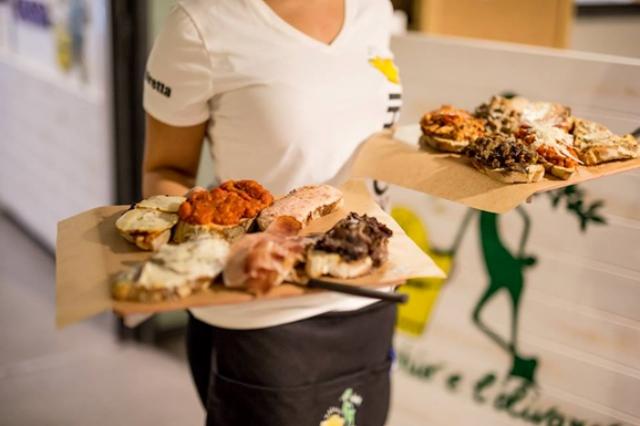 il secchio e l'olivaro cenare a ostiense con meno di 25 euro cena a roma economico low cost bruschetteria pizza