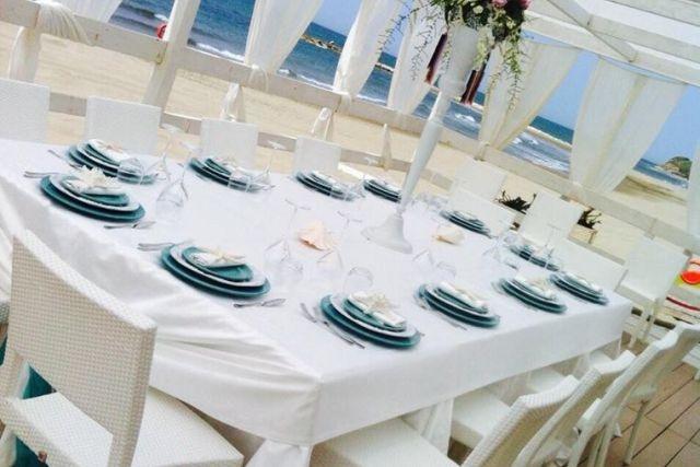 matrimonio al mare ristorante cala del sole anzio