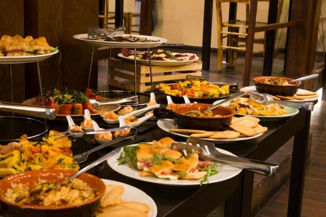 stazione 38 bistrot mangiare all'aperto in inverno a roma ristorante marconi sole pranzo buffet