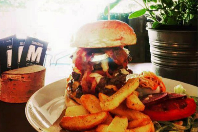 madera milano hamburger