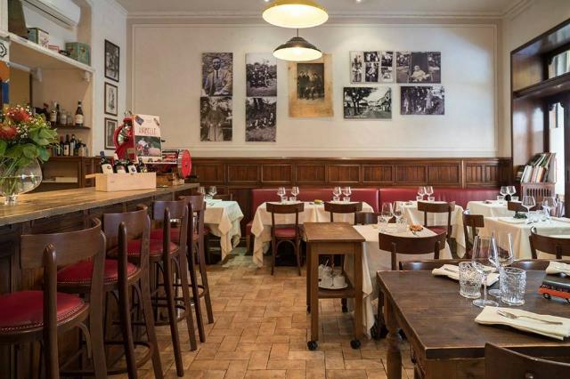 ristorante arcangelo prati arcangelo dandini supplì animelle piatti rari e poco conosciuti cucina romana roma