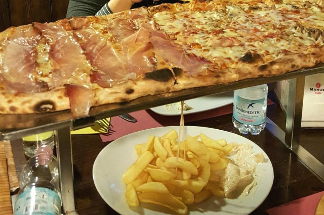 pizza a metro galivm mestre