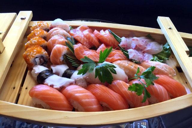 mangiare sushi in veneto