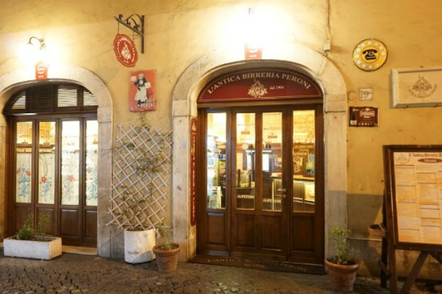 antica birreria peroni roma centro storico cena spendere poco ristoranti