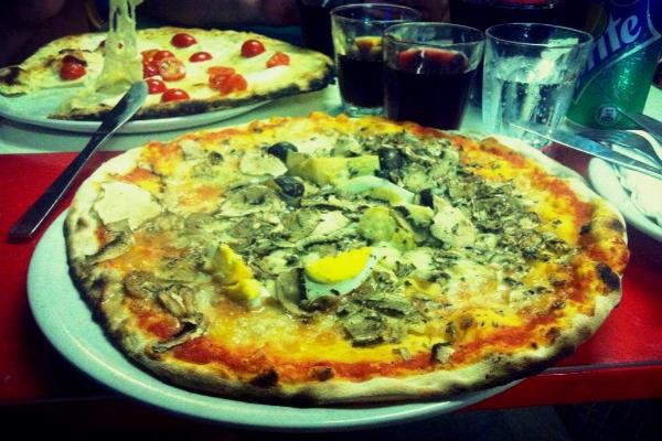 pizzeria l'economica san lorenzo roma pizza romana bassa qualità prezzo 9 euro formula supplì pizza birra top 10 classifica mie pizze romane migliori