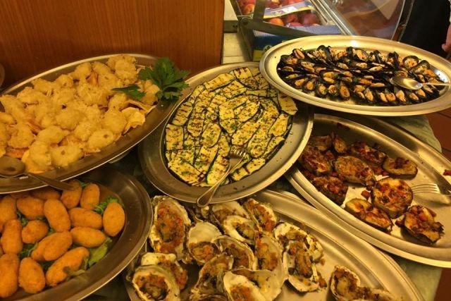 cosa mangiare a roma d'estate pesce