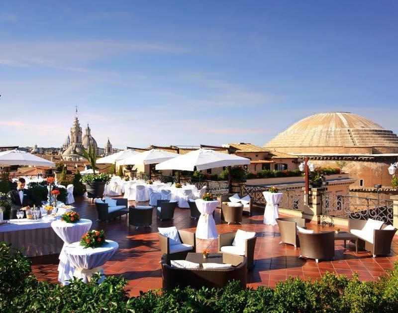 minerva roofgarden, roma