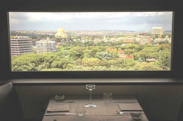 ristorante il fungo eur migliori ristoranti dell'eur panorama romantico vista