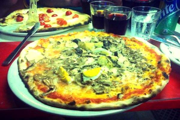 pizzeria l'economica roma san lorenzo pizza supplì birra 9 euro romana studenti mangiare low cost a roma migliori ristoranti