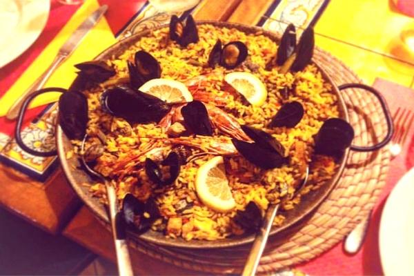 toros y tapas ristorante spagnolo roma nomentano andalusia specialità paella migliori cinque paelle di roma