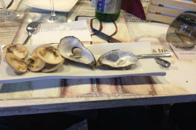 sor duilio pescheria roma ristorante ostriche pesce crudo