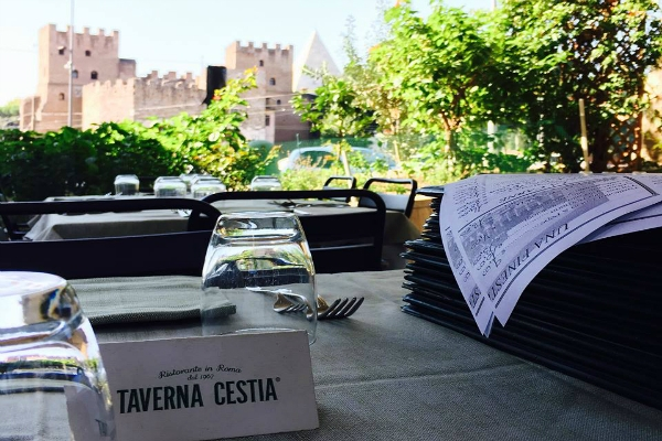 taverna cestia piramide classifica migliori 10 gricie di roma terzo posto gricia amatrice guanciale pecorino dop