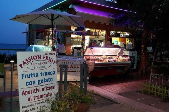 ristoranti locali santa marinella chiosco passion fruit