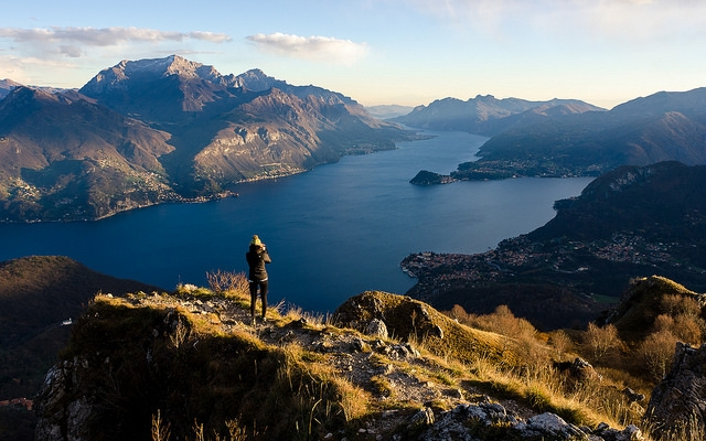 rifugio menaggio lombardia trekking