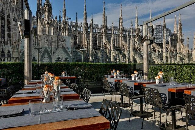 rinascente maio restaurant milano terrazza