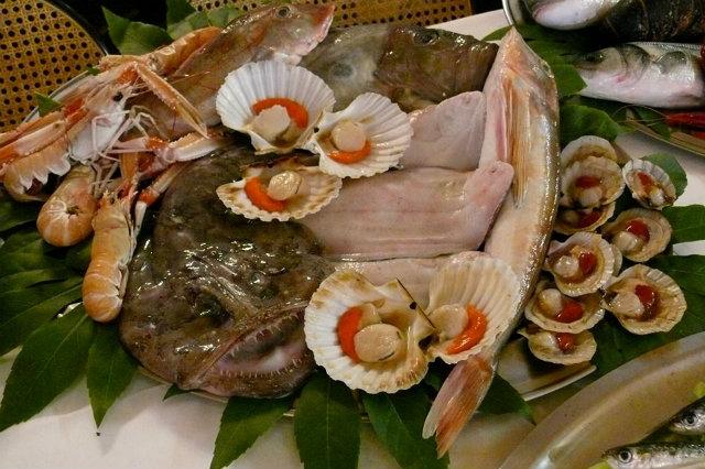 al gambero pranzo di pesce jesolo