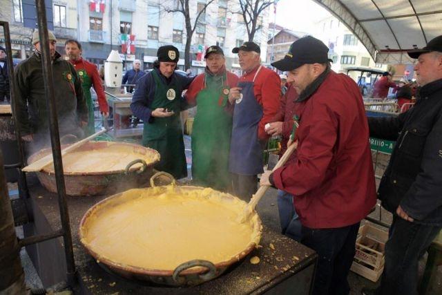 eventi febbraio 2018 lazio festa del polentone castel di tora