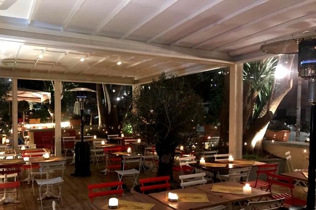 tira e molla mangiare all'aperto d'inverno a roma veranda san giovanni cena pranzo aperitivo colazione