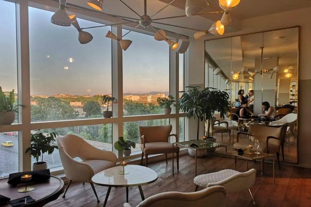 pianoalto nuove aperture roma luglio 2018 terrazzo roof top roma bistrot ristorante pranzo cena aperitivo trastevere