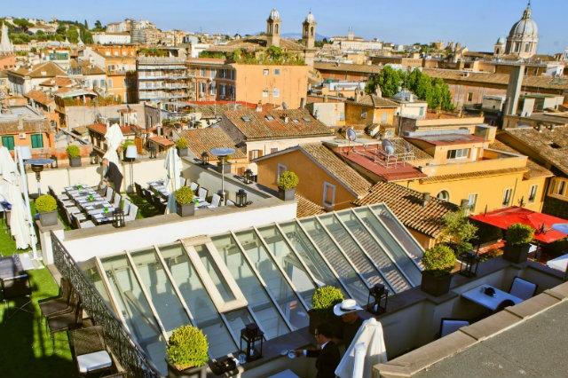 terrazze più belle di roma