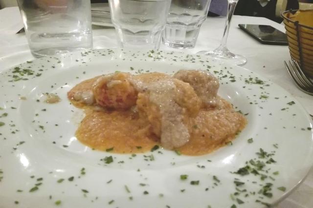 meat roma ristorante portuense polpette kosher carote menù intervista team marco piperno